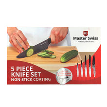 Load image into Gallery viewer, Master Swiss 5 Piece Knife Set