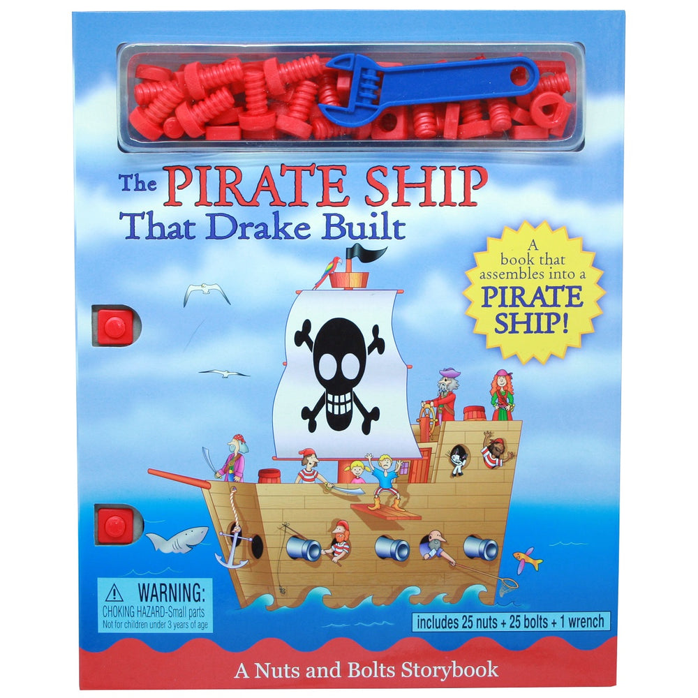 Pirate Ship That Drake Built Activity Book