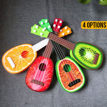 Load image into Gallery viewer, Cute Fruit Ukulele Toy Guitar - Orange