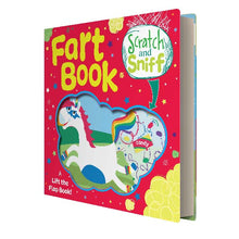 Load image into Gallery viewer, Scratch and Sniff Fart Book