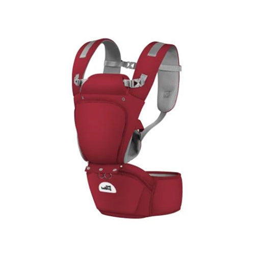 All in 1 Baby Hip Seat Carrier Ruby Red