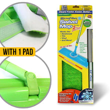 Load image into Gallery viewer, Microfiber Swivel Cleaning Mop