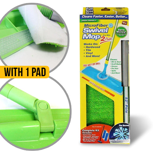 Microfiber Swivel Cleaning Mop