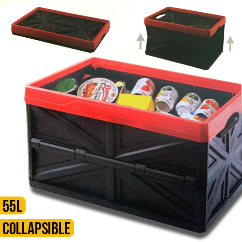 Collapsible Storage Box 55L