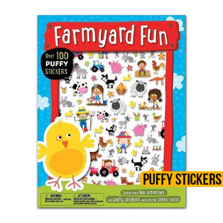 Puffy Stickers Farmyard Fun