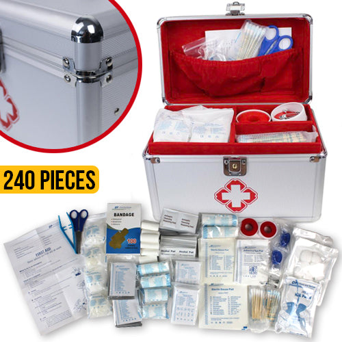 Premium First Aid Kit 240 Pieces