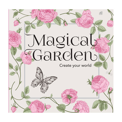 Colouring  In  Book  - Magical Garden