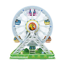 Load image into Gallery viewer, Electronic 3D Ferris Wheel Puzzle