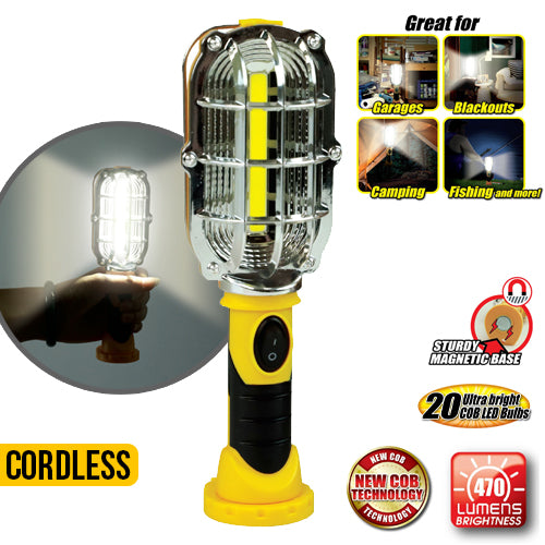Portable COB Cordless Work Light
