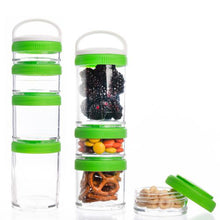 Load image into Gallery viewer, Stackable Snack Containers Set of 4