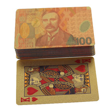 Load image into Gallery viewer, NZD Gold Playing Cards