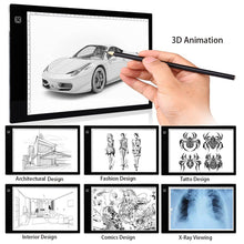 Load image into Gallery viewer, Ultra Thin Drawing Light Pad