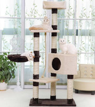 Load image into Gallery viewer, 145cm Cat Tree Tower