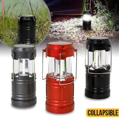 Collapsible COB Lanterns - 3 Pack