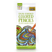 Load image into Gallery viewer, Crayola 12 Adult Colouring Dual Ended Pencils
