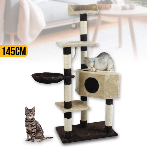 145cm Cat Tree Tower