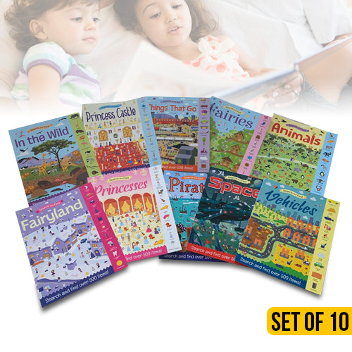 Discover and Explore Fun 10 Book Set