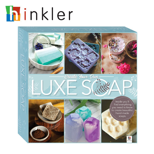Create Your Own Luxe Soap Kit Box Set