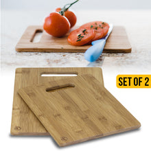 Load image into Gallery viewer, Bamboo Cutting Board Set