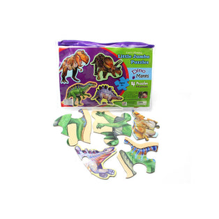 Garry Fleming - Little Jumbo Puzzles - Dino Mates
