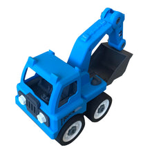 Load image into Gallery viewer, Assembly DIY Excavator Truck in Plastic Box
