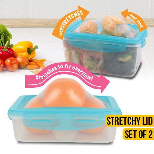Flexible Lid Storage Containers