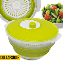 Load image into Gallery viewer, Collapsible Salad Spinner - Easy Storage