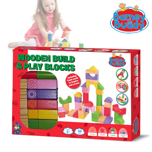 Wooden Build & Play Set
