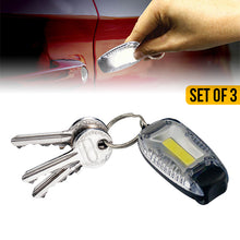 Load image into Gallery viewer, Zoom Tac COB Key Chain Flashlight Set of 3