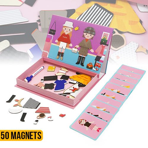 Magnetic Art Case - Dress Up