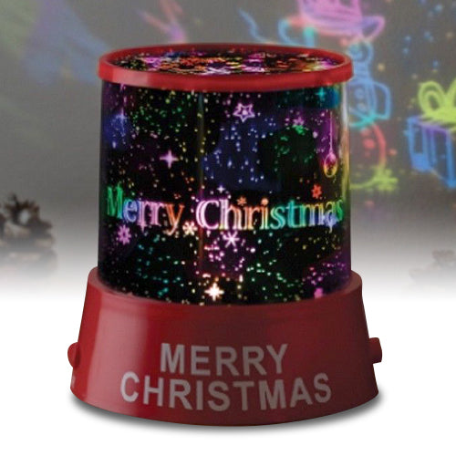 Merry Christmas Star Master Projector