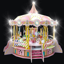 Load image into Gallery viewer, Merry-Go-Round 3D Puzzle
