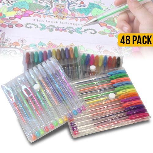 48 Premium Gel Pen Set
