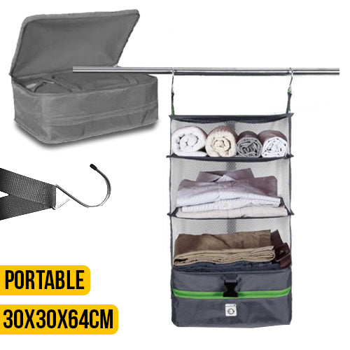 Small Travel Mobile Closet