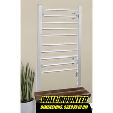Load image into Gallery viewer, 2-in-1 Heated Towel Warmer - Freestanding or Wall Mounted