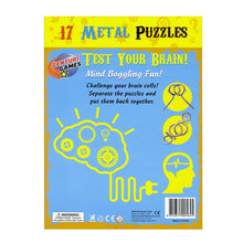 Load image into Gallery viewer, 17 Metal Puzzles - Challenge The Mind