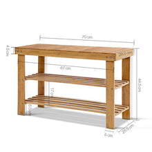 Load image into Gallery viewer, Multi Purpose Bamboo Rack & Seat