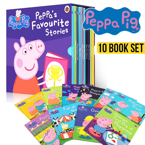 Peppa Pigs Favourite Stories - Book Sale