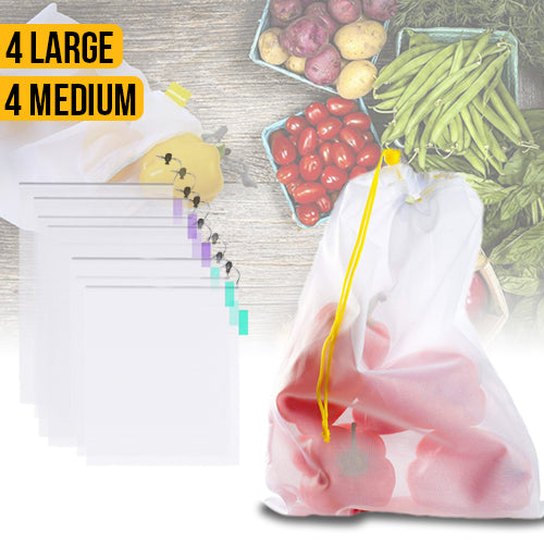 Eco Friendly Reusable Produce Bags