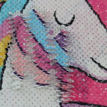 Load image into Gallery viewer, Unicorn Sequin Pillow