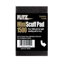 Load image into Gallery viewer, Flitz Mini Scuff Pads - 6 PACK