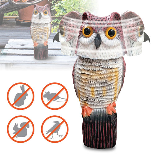 Wind Action Smart Owl - Chemical Free Pest Control