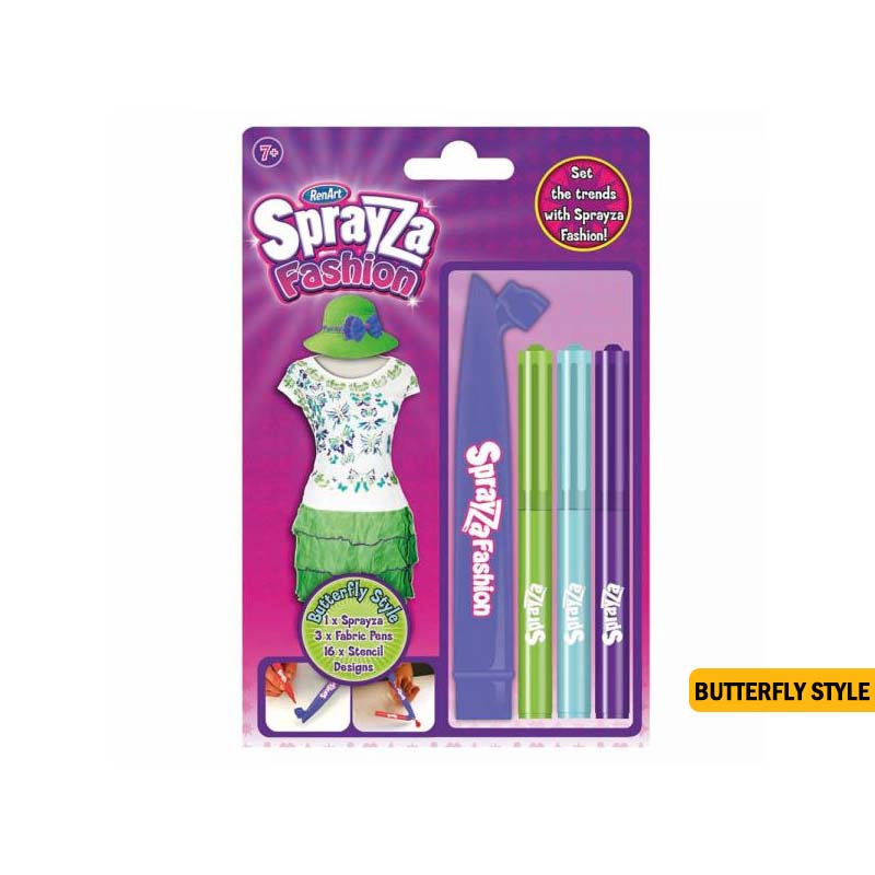 Sprayza Fashion Kits - Butterfly style