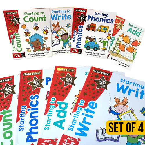 Gold Stars Early Learning Pack