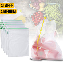 Load image into Gallery viewer, Eco Friendly Reusable Produce Bags
