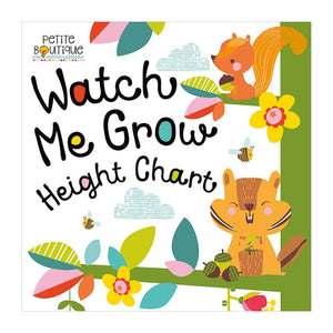 Watch Me Grow Height Chart