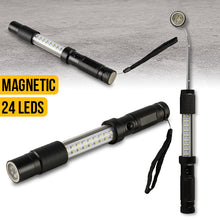 Load image into Gallery viewer, Telescopic 18 LED 3 in 1 Worklight