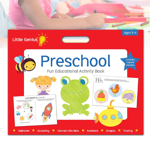 Little Genius Preschool Mega Pad