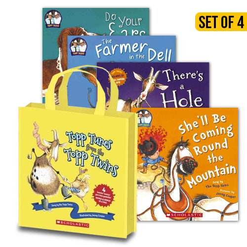 Topp Tunes From The Topp Twins 4 Books Bag