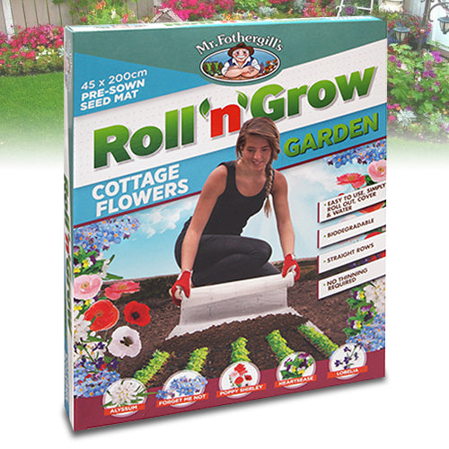 Roll n Grow Cottage Flowers